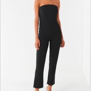 Urban outfitters Strapless Black Jumpsuit S